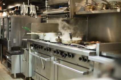 Servicing commercial kitchens